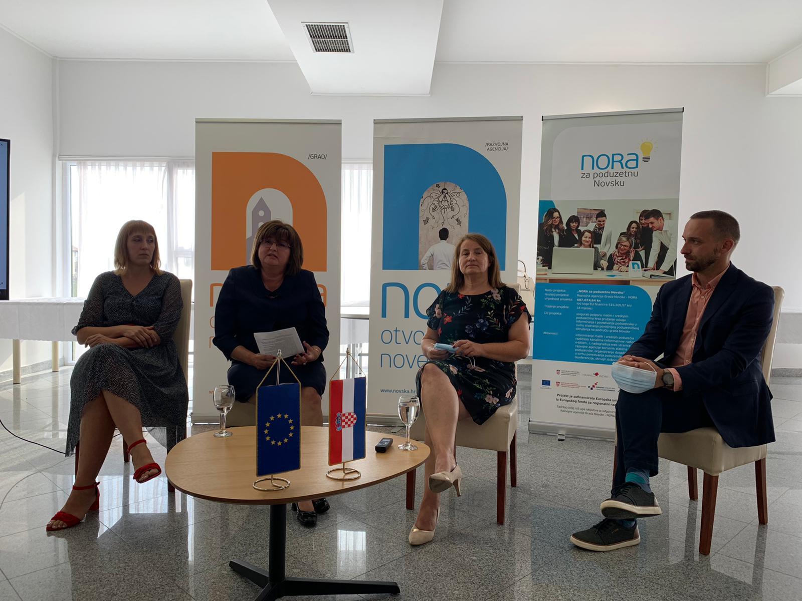 NORA ZA PODUZETNU NOVSKU – Održan Radni sastanak gradonačelnika s ženama u poduzetništvu